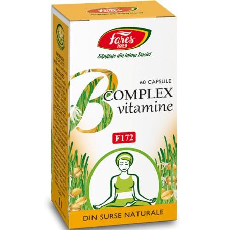 CAPSULE B-COMPLEX VITAMINE NATURALE 60 TB