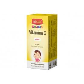 Vitamina C Junior Solutie Biofarm - 10 ML