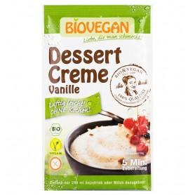 Crema Bio pentru desert cu vanilie, 52g Biovegan
