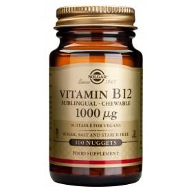 Vitamin B-12 1000μg nuggets 100s SOLGAR
