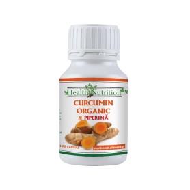 Curcumin Organic + Piperina 120 capsule