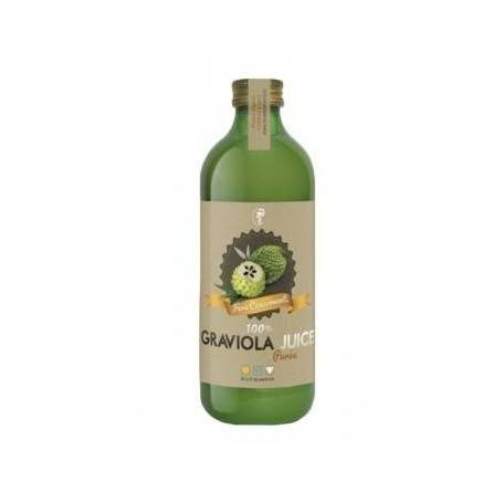 GRAVIOLA JUICE 100% PUREE 500 ML