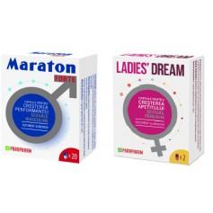 Pachet Maraton Forte Parapharm 20 CPS + Ladies Dream 2 capsule Quantum Pharm