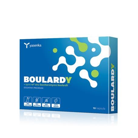 Probiotice, Saccharomyces Boulardii, 10 capsule
