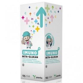 Betaglucan 500mg cu Vitamina C si Zinc, 125ML Imuno