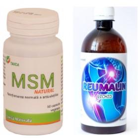 Pachet MSM + Reumalin
