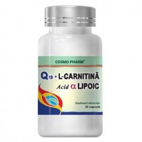 Q10+L-CARNITINA+ALFA LIPOIC 30CPS