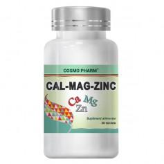 Calciu - Magneziu - Zinc - 30 TAB