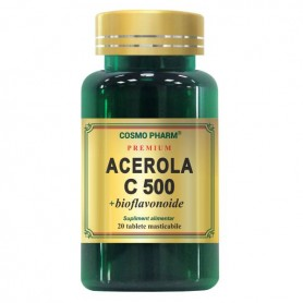 Acerola C, 500Mg 20 tablete Cosmo Pharm