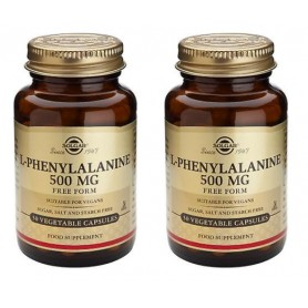 Oferta Fenilalanina, L-phenylalanine,  500Mg, 50 cps vegetale