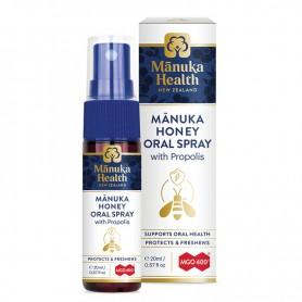 Spray Oral cu Miere de Manuka MGO 400+ si Propolis Manuka Health - 20 ML