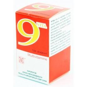 9 VITA Multivitamine 100 tablete