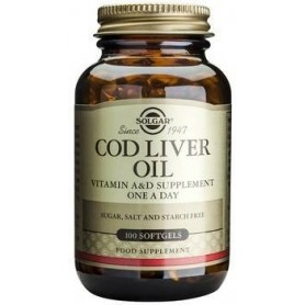 Cod Liver Oil softgels 100s SOLGAR