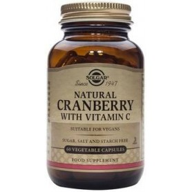 Cranberry Extract with Vit. C veg.caps 60s SOLGAR