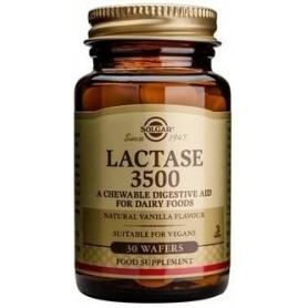 LACTASE '3500' chewable tabs 30s SOLGAR