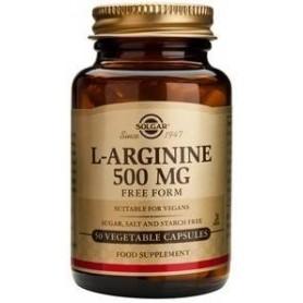 L-arginine 500mg veg.caps 50s SOLGAR