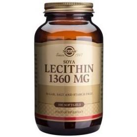 Lecithin 1360mg softgels 100s SOLGAR