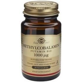 Methylcobalamin (Vitamin B-12) 1000μg nug.30s