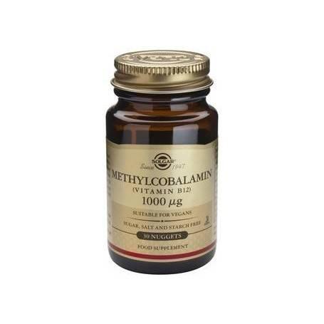 Methylcobalamin (Vitamin B-12) 1000μg nug.30s SOLGAR