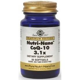 NUTRI-NANO CoQ-10 3.1x softgels 50s