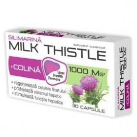 MILK THISTLE + COLINA 30CPS