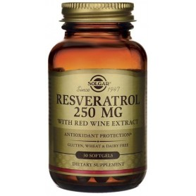 Resveratrol 250mg softgels 30s