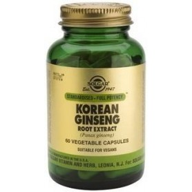 SFP Korean Ginseng Root Extract veg.caps 60s SOLGAR