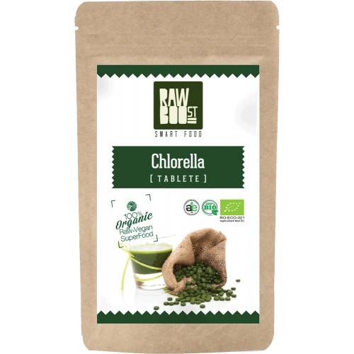 chlorella tablete ecologice 500mg/500tb.