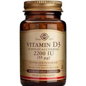 Vitamin D3 2200 IU veg.caps 50s