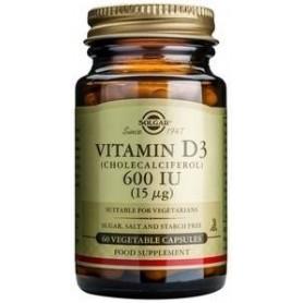 Vitamin D3 600 IU veg.caps 60s