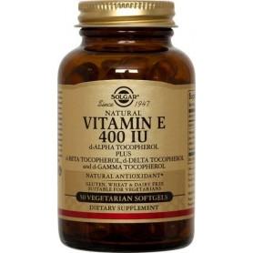 Vitamina E 400 IU softgels 50s