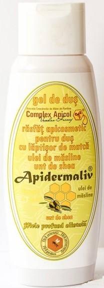 APIDERMALIV - GEL DE DUS CU LAPTISOR MATCA, ULEI DE MASLINE