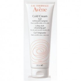 AVENE COLD CREAM GEL DE DUS, 250ML