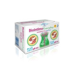 ABSORBANTE INTIME BIOINTIMO DUO PACK EVERYDAY 40 BUC