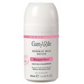 Deodorant natural roll-on cu aroma florala Gamarde