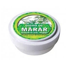 Crema cu extract de marar, ulei din germeni de grau, miere de albine
