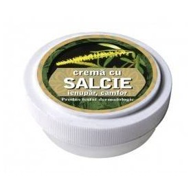 Crema cu extracte de salcie, ienupar, camfor