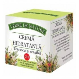 Crema hidratanta ten uscat si sensibil 50 ml cu unt de shea