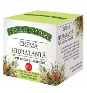 Crema Hidratanta pentru Ten Uscat si Sensibil Manicos 50 ML