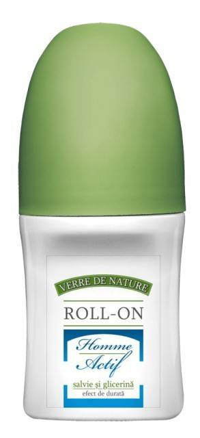 Roll-on cu salvie Homme Actif