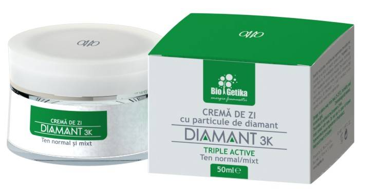 DIAMANT 3K – Crema de zi ten normal/mixt - 50 ml