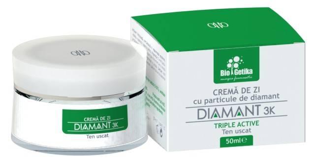 DIAMANT 3K – Crema de zi pentru ten uscat – 50ml