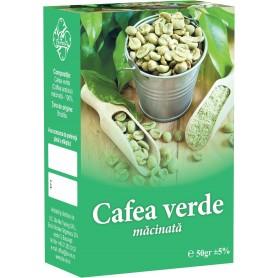 CAFEA VERDE MACINATA, CUTIE-  50 GR
