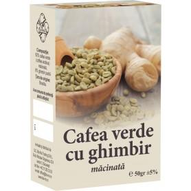 CAFEA VERDE MACINATA CU GHIMBIR, CUTIE- 50 GR