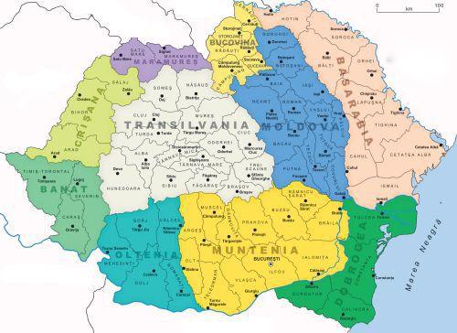 harta transilvaniei si banatului