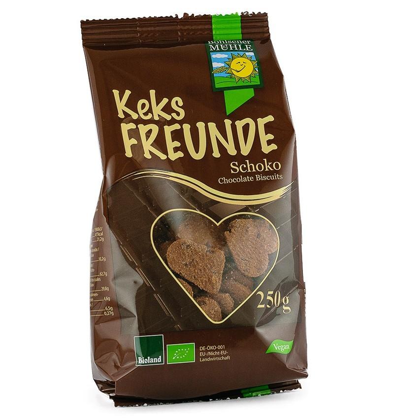 Biscuiti Bio cu Ciocolata Bohlsener Muhle – 250 g