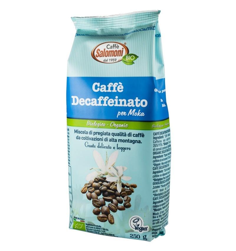 Cafea Bio Decofeinizata Salomoni – 250 g