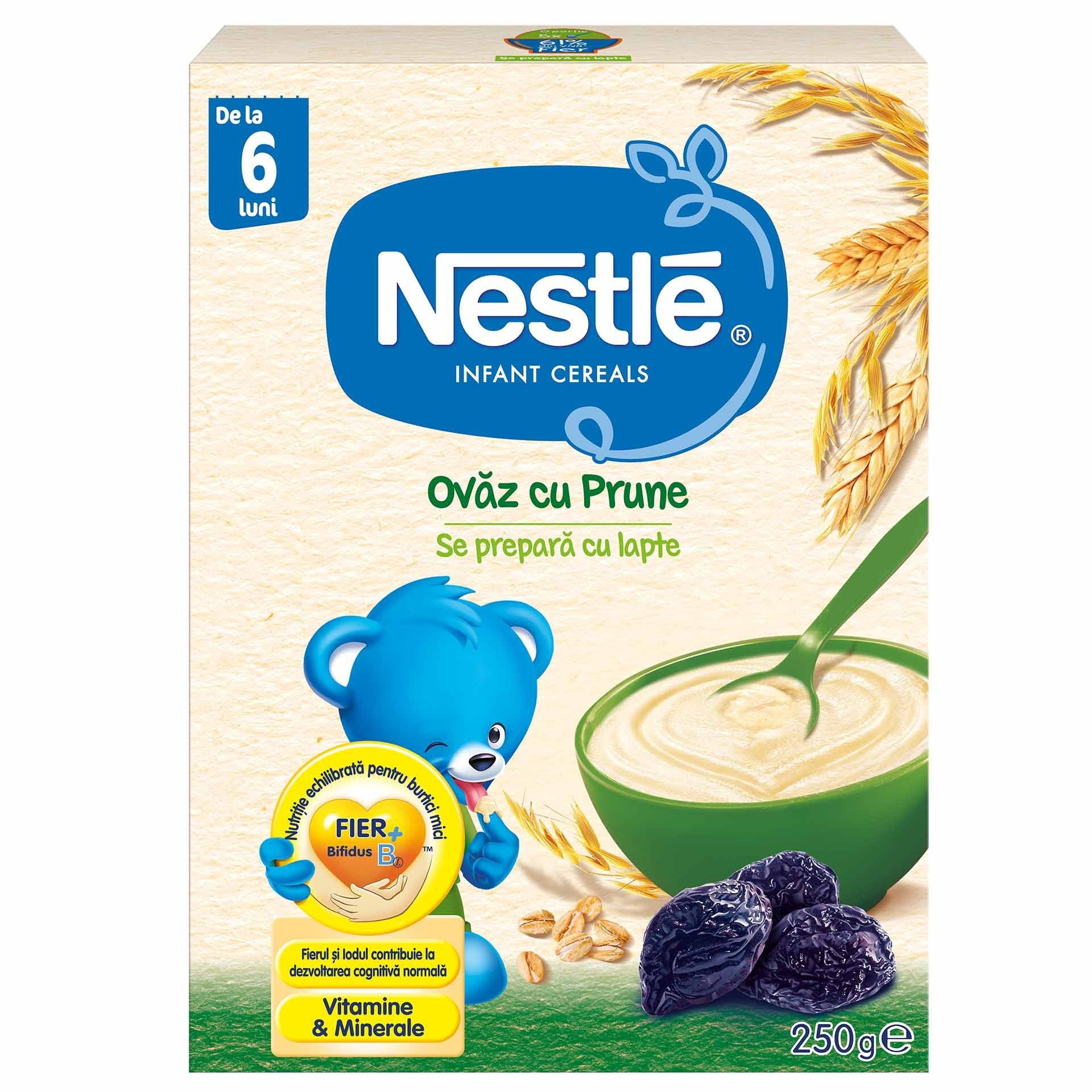 Cereale Nestle Ovaz Cu Prune 250G