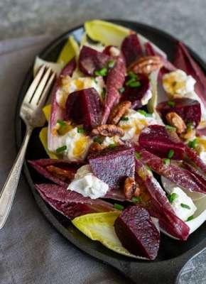 Salată Verde cu Sfeclă și Semințe de Chia