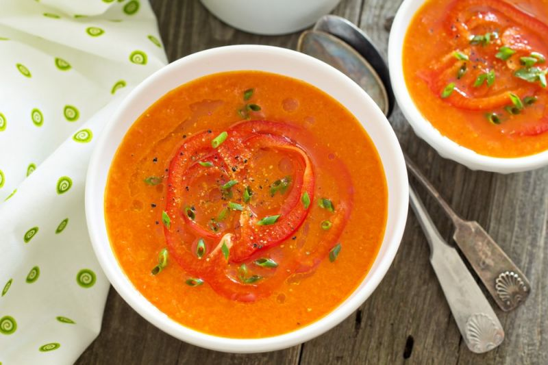 Supa crema de linte rosie - reteta pas cu pas